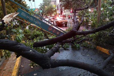 Onemi decreta alerta preventiva en 6 regiones por tormentas eléctricas