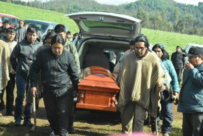 Unidad de Derecho Humanos de la Fiscalía Regional de La Araucanía investigará muerte de Camilo Catrillanca
