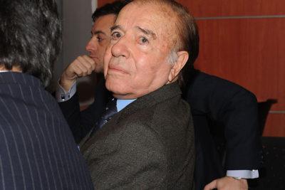 PDI autorizó ingreso a Chile del ex Presidente Carlos Menem
