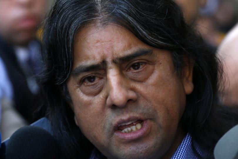 """Aucán Huilcamán avaló """"el derecho a rebelión"""" del pueblo mapuche"""