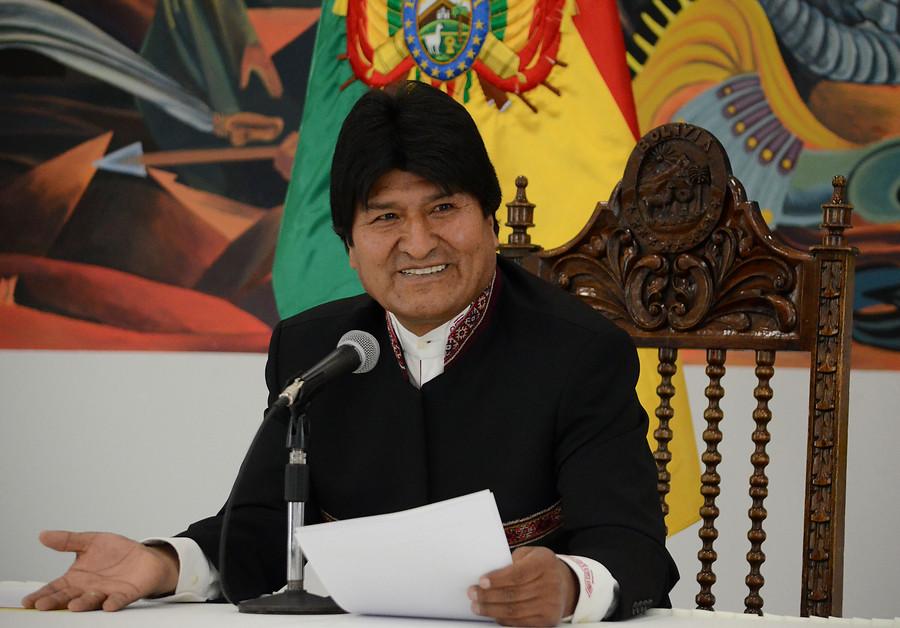 """""""Evo Morales reconoció que es"""