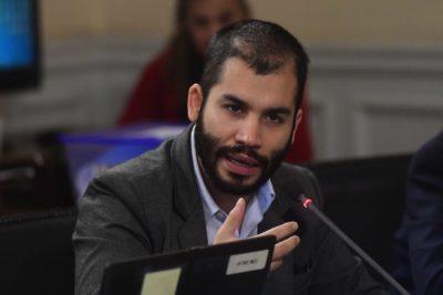 """El mea culpa de Renato Garín por agresión en el Congreso: """"Me vi completamente superado"""""""