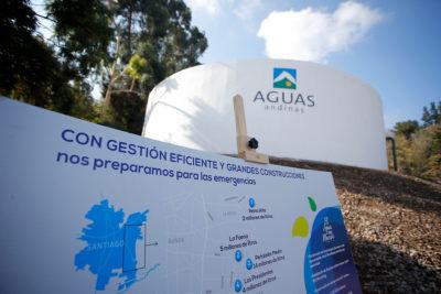 SISS comenzó nuevo proceso de fijación de tarifas de Aguas Andinas