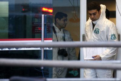 Banda roba cajero en Las Condes y causa graves daños por saturación con gas