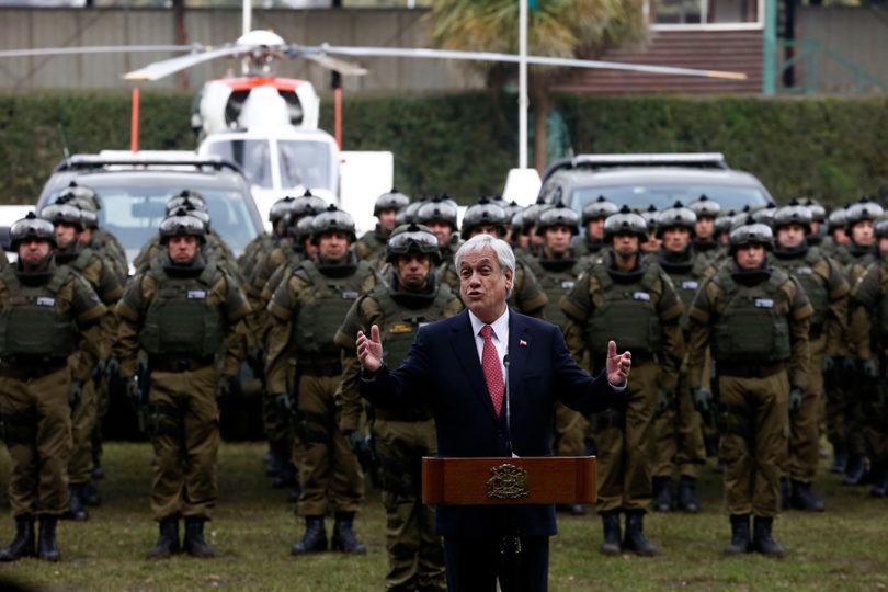 ¿No le gustan tanto los acuerdos señor Piñera? Entonces haga uno para intervenir Carabineros