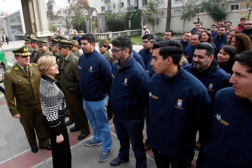 """Matthei descarta abusos de guardias municipales de Providencia: """"Se hacen las víctimas"""""""