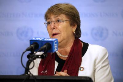 """Bachelet pidió que responsables del asesinato de Camilo Catrillanca """"sean llevados a la justicia"""""""