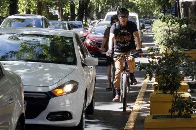 Convivencia vial: 100 multas a ciclistas y automovilistas en dos días de ley