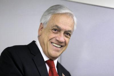 """Piñera agradece apoyo a Aula Segura: """"Sin duda una ley urgente y necesaria"""""""