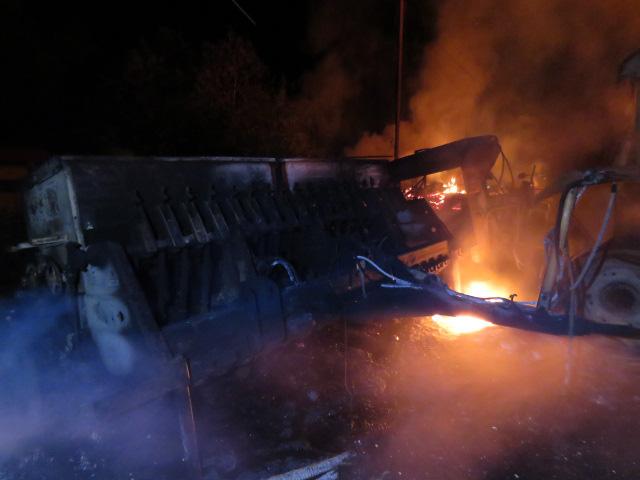 """""""Al menos 6 atentados incendiarios en últimas horas en zona del conflicto mapuche"""""""