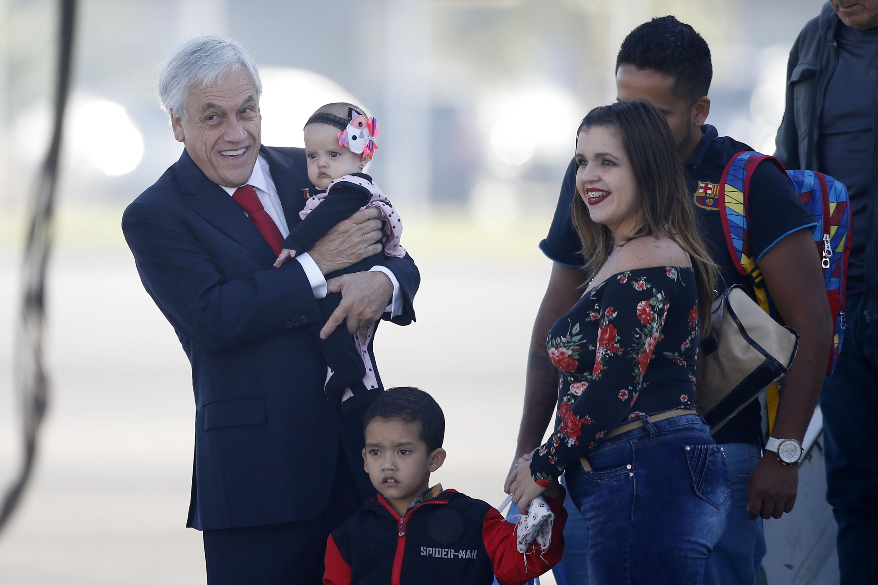 """""""Piñera pide libertad de presos políticos venezolanos y respeto a los DD.HH."""""""