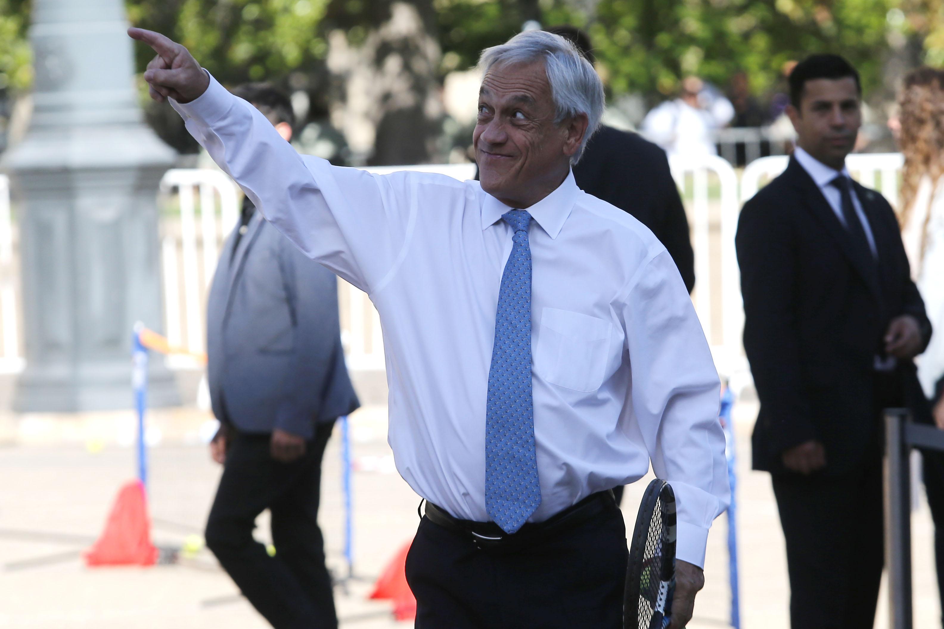 """""""No me eche a perder el día"""": La distendida respuesta de Piñera tras renuncia de Orrego a TVN"""