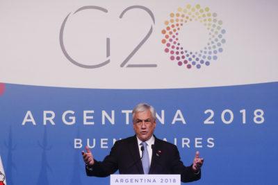 Presidente Piñera confirma conversación con Macron por Palma Salamanca