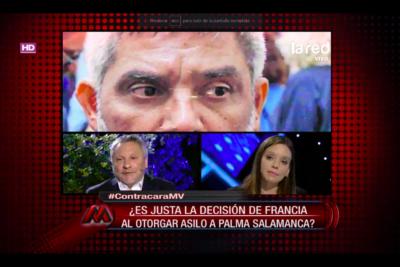 VIDEO |Bochorno en TV, parte 2: ex abogado de Palma encara en vivo a diputada Flores por inventar condena en México