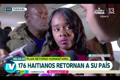VIDEO | Hacen pebre a Bienvenidos y su notero por esta entrevista a inmigrante que se fue de Chile