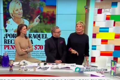 VIDEO | Raquel Argandoña quedó impactada por dentadura de haitiana y se anotó con increíble frase en TV