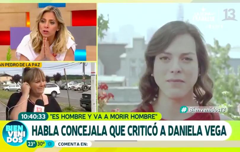 VIDEO | Concejala transfóbica de RN hace patético show en el Bienvenidos al ser increpada por dichos sobre Daniela Vega