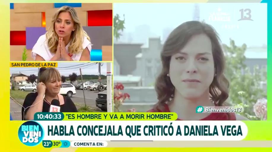 """""""VIDEO   Concejala transfóbica de RN hace patético show en el Bienvenidos al ser increpada por dichos sobre Daniela Vega"""""""
