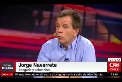 """Jorge Navarrete, analista: """"La última persona que tuvo real control sobre Carabineros fue Pinochet"""""""