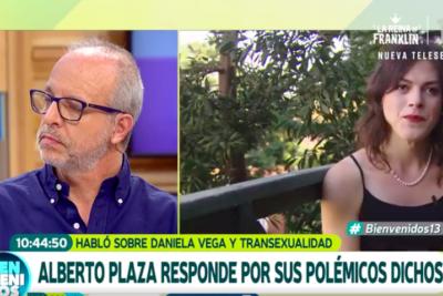"""VIDEO   Mariana Derderián le explicó en vivo a Alberto Plaza por qué """"no todas las opiniones son válidas"""""""