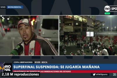 VIDEO   Aplausos: El hincha que todos querían escuchar tras los incidentes de la frustrada final de la Libertadores