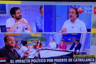 VIDEO | Francisco Vidal no se dio cuenta que estaba en cámara mientras pedía que cortaran a Gonzalo Müller