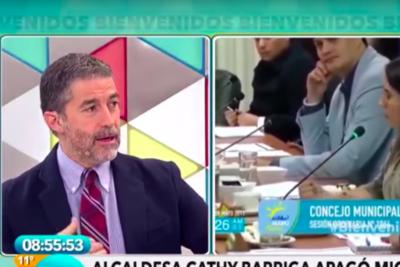 """""""Es un abuso de poder, me agrede como ciudadano"""" y otras frases de Polo Ramírez contra Vallejo y Cariola por bandera mapuche"""