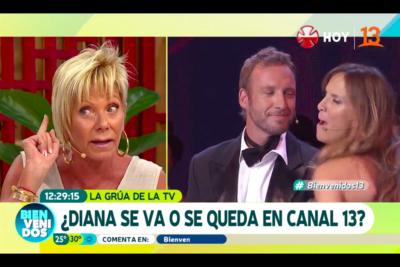 VIDEO |Argandoña se mofa de la salida de Amparo Noguera de TVN y le recuerda cuando cantó para que sacaran a Paty Maldonado de Mega