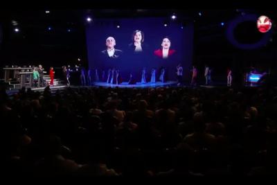 VIDEOS  Del playback al discurso de Don Francisco: cinco momentos que marcaron el inicio de la Teletón 2018