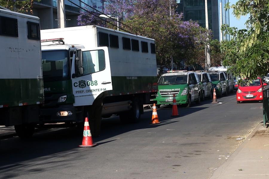 """""""Gendarmes bloquearon acceso vehicular del Centro de Justicia"""""""