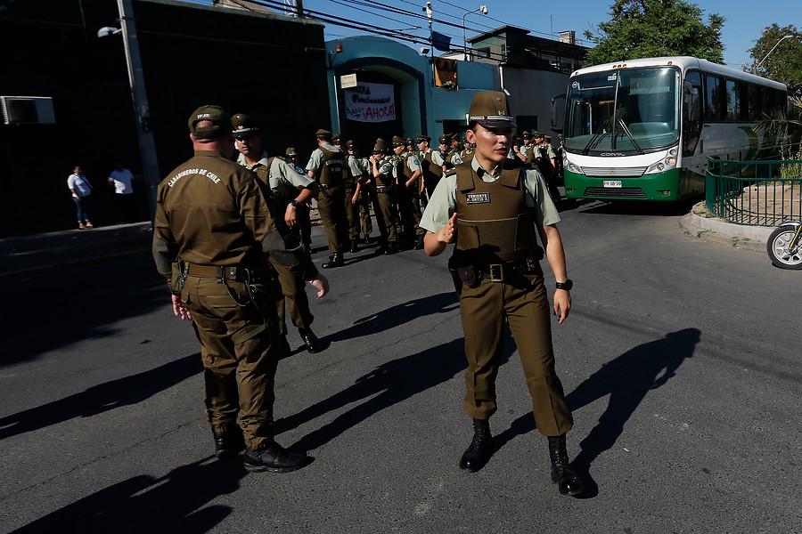 Desalojo inminente: presidentas de Cortes de Apelaciones llegan a Centro de Justicia