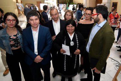 Diputada Emilia Nuyado será quien interpele al ministro Andrés Chadwick