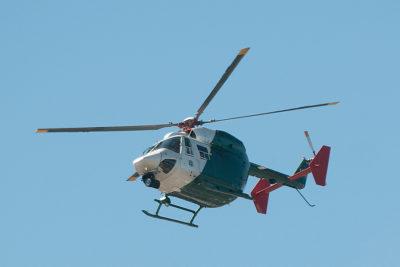 Helicóptero de Carabineros fue atacado a balazos en la comunidad de Temucuicui