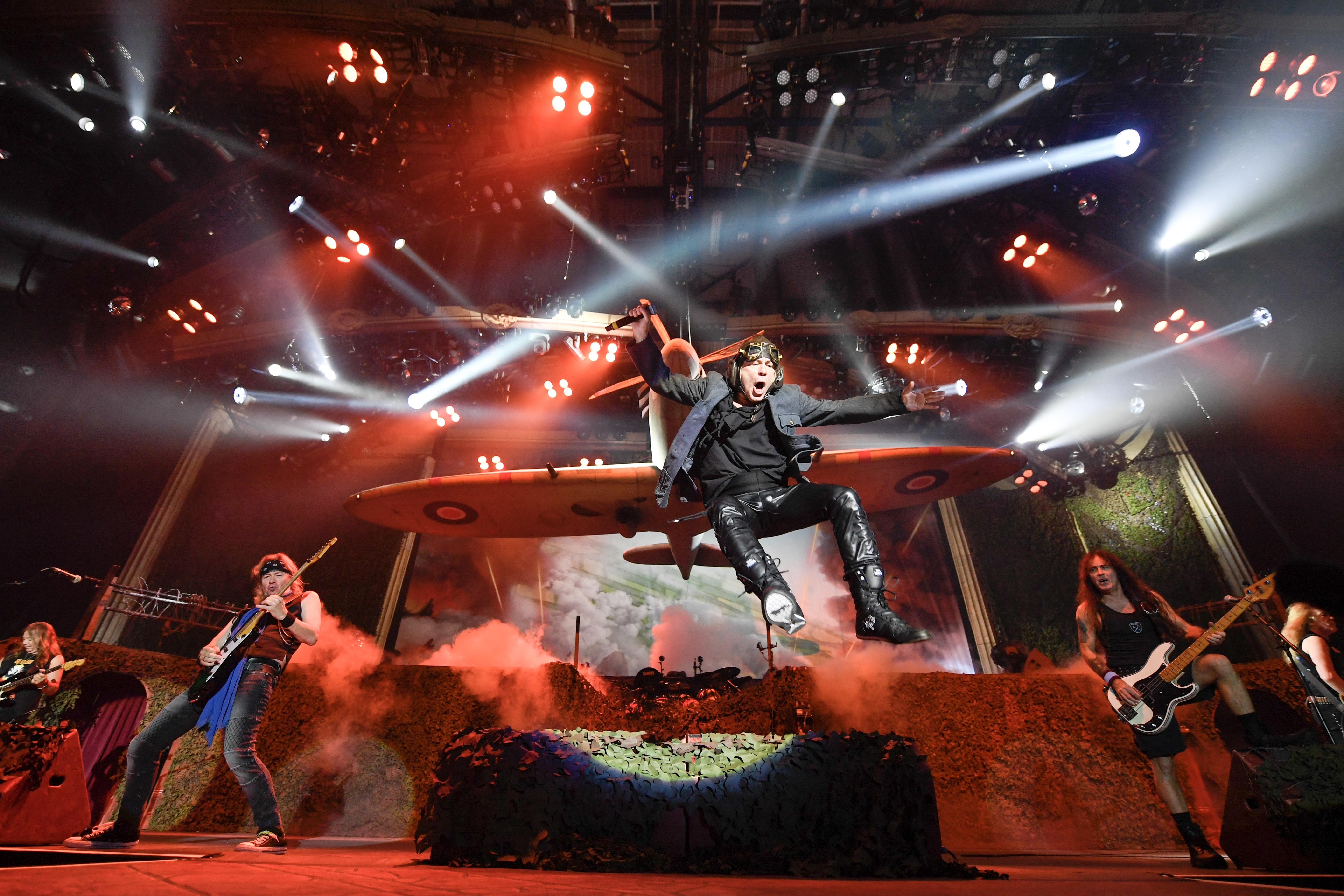 """""""Iron Maiden vuelve al Estadio Nacional en 2019 con el Legacy Of The Beast Tour"""""""