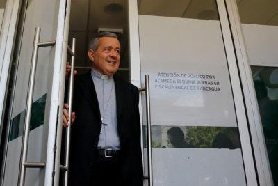 """Juan Barros tras declarar como imputado: """"Uno desea colaborar y responder"""""""