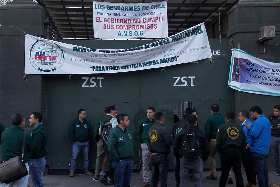"""""""Paro de gendarmes: imputados cumplen prisión preventiva en el Centro de Justicia"""""""
