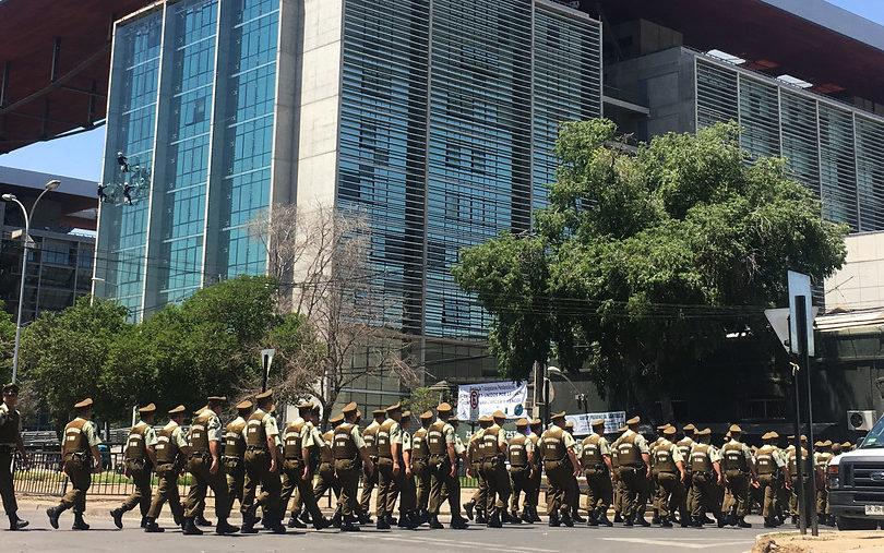 Paro de gendarmes: Corte de Apelaciones asegura que detenidos están bien