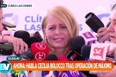"""Cecilia Bolocco revive entre lágrimas conversación con su hijo tras operación: """"¡Mamá, lo hice. No me morí!"""""""