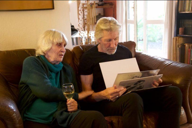 Roger Water visita a Joan Turner, viuda de Víctor Jara previo a concierto en el Estadio Nacional