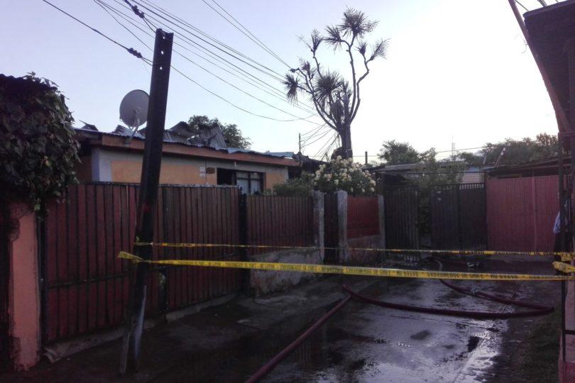 Ciudadanos haitianos fallecieron en incendio que se generó en vivienda de Estación Central