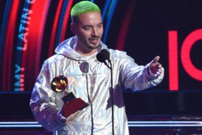 """J Balvin gana el Grammy Latino: """"El reggaetón ha salvado vidas, ha motivado que la gente deje las calles"""""""