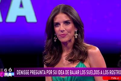 VIDEO  María Luisa Godoy explica por qué se deberían bajar los millonarios sueldos de los rostros de TV
