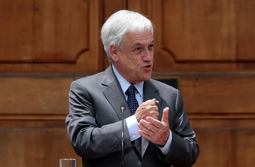 """""""Desde el Frente Amplio aseguran que Piñera"""