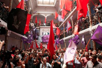 Movimientos del Frente Amplio inician la conformación de nuevo partido político