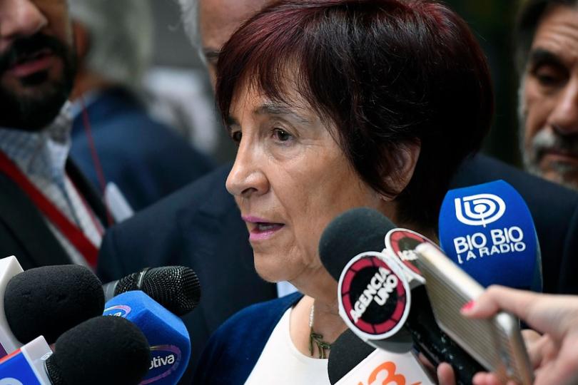"""Carmen Hertz califica de """"vergonzosa"""" actuación de Carabineros y pide salida de ministro Chadwick"""