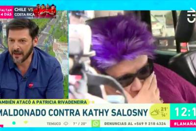 """""""Yo no creo que los cobardes mueran de rodilla"""": Rafael Cavada corrige a Patricia Maldonado en TV por polémica frase"""