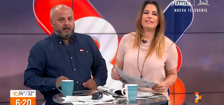 """""""Hueón arrogante de mierda"""": dejan micrófono abierto mientras mostraban noticias en Canal 13"""