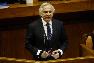 VIDEO | Revisa la interpelación al ministro Andrés Chadwick