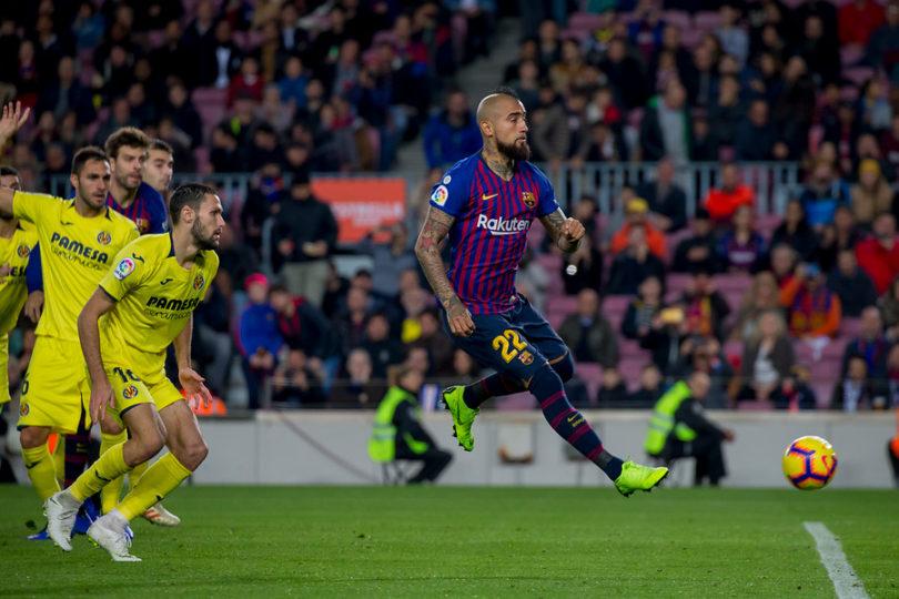 Arturo Vidal será baja en el Barcelona en duelo de Copa del Rey por un cuadro febril