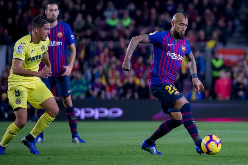 """DT del Barcelona: """"Vidal siempre está dando lo máximo para ayudar al equipo"""""""